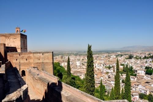 Benteng Alcazaba.