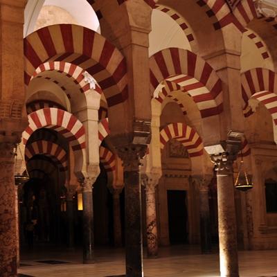 Azan Maghrib Terdengar di MasjidCordoba