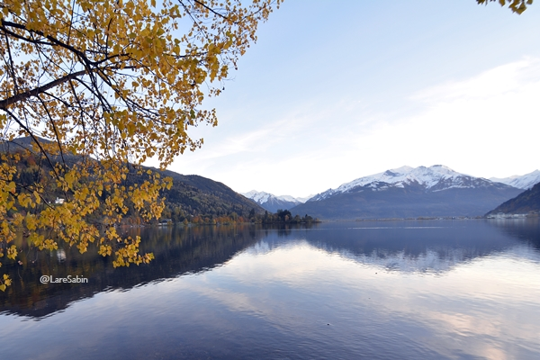 Danau Zell am See.